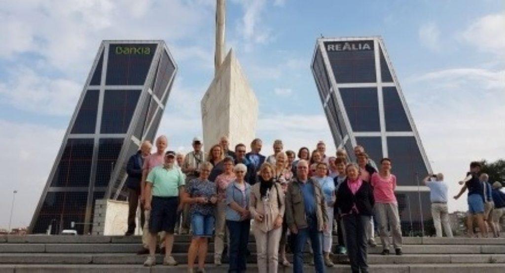 Teilnehmer der Reise nach Madrid
